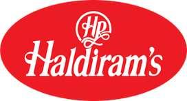 Hiring Start for Newly Opened Warehouse of Haldiram. Freshers Welcome