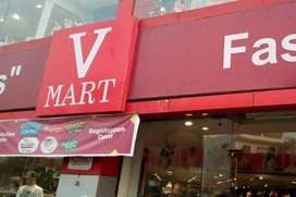 NEED FOR CANDIDATES FOR V-MART SHOWROOM