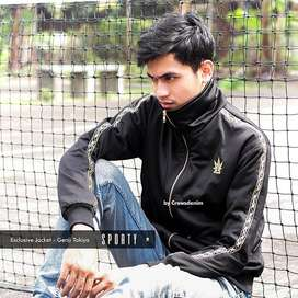 Jaket Crows Zero Genji Sporty Edition | Jaket Motor |Crowsdenim SPORTY
