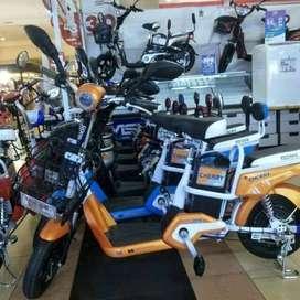 Sepeda listrik Charry selis dll