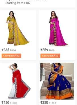 Low price and modern shari