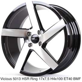 new VICIOUS 5013 HSR R17X75 H4x100 ET40 BMF
