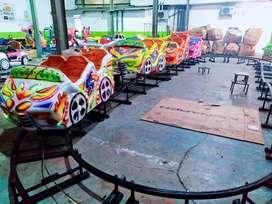 Jual mini coaster odong produksi mainan pancingan ikan elektrik  RAA