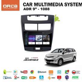 Double Din Headunit Android Orca 9inch OEM Avanza Veloz Include Pasang
