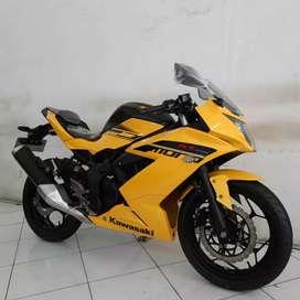 [FREE SERVIS SELAMANYA]Kawasaki Ninja Rr Mono 2016 Kuning Istimewa