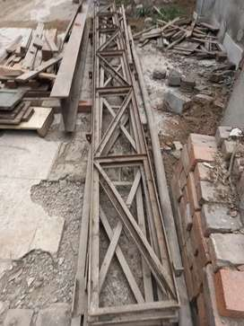 Angle Iron Frame for shed