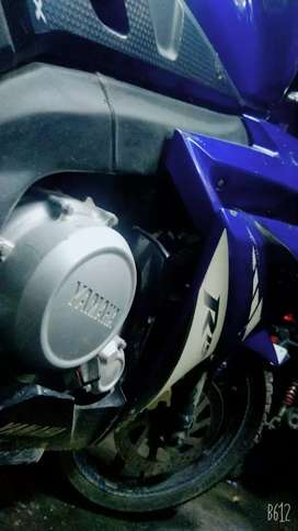 R15 VERSION 1. In a nice condition.Petrol Tank issue.