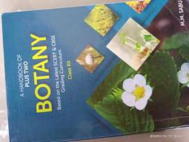A Handbook of plus two botany