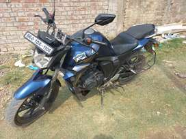 Yahama FZS V.2  Vehicles condition is good all documents are available