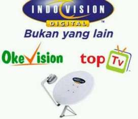 Parabola Mini Digital Indovision mnc vision jual putus