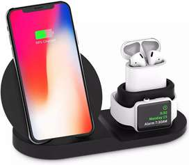 Wireless Charger 3-in-1 Charging Station
