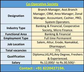 Cooperative bank jobs Available for Freshers & Experienced Candidates