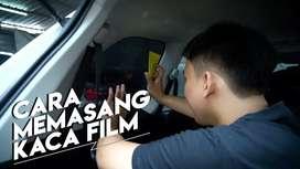 Pasang kaca film mobil dan gedung harga murah