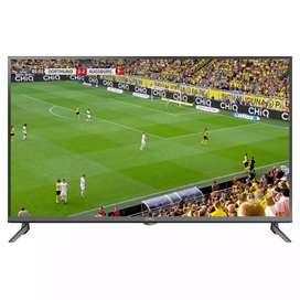 "Cornea 50"" 4K LED TV with warranty Metal body & inbuilt soundbar"
