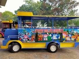 kereta kelinci wisata kincir mini gerobak L05