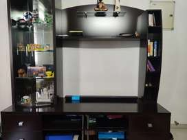 TV Wall Unit (50 inch) in excellent condition