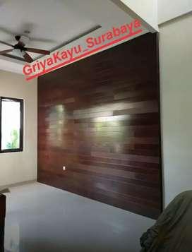 Dinding kayu/flooring kayu/decking kayu/tangga kayu/pagar kayu/plafon