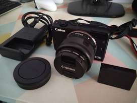 Canon EOS M100 Kit 15-45mm Paket 32gb, Nego sampe cocok
