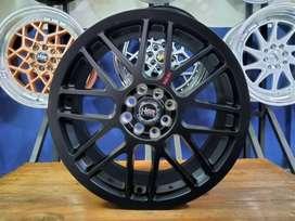 Velg Mobil Racing R17 HSR RAI-S1 Ring 17 Untuk Brio Soluna Mazda2 DLL