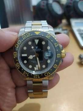 Rolex GMT Master II Black Gold