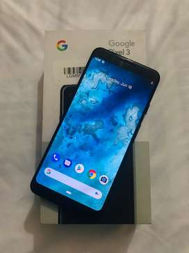 GOOGLE PIXEL 3 64GB 8 MONTHS OLD SUPERMINT CONDITION