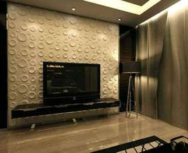 3D Panels for LCD/LED TV Wall