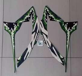 Sticker crf 150l hijau
