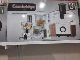 Cambridge food factory model 550 warranty 2 years