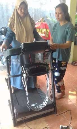5 fungsi treadmill elektrik fammax 60 kladssporty