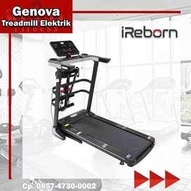 Alat Fitness Rumah Treadmill Elektrik Genova by Ireborn Garansi Srv