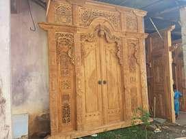 cuci gudang pintu gebyok gapuro jendela rumah masjid musholla wajun