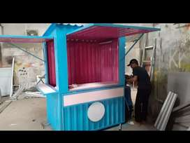 CONTAINER USAHA/FOOD TRUCK/BOOTH CONTAINER/CONTAINER CAFE