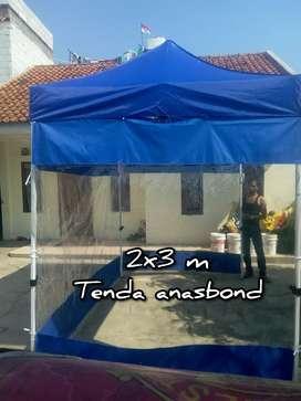 Tenda lipat otomatis dinding