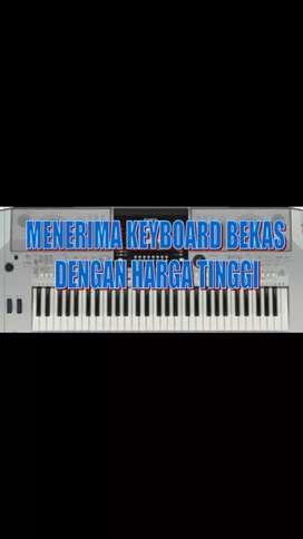 Menerima Keyboard bekas dengan Harga tertinggi sesuai kondisi ..
