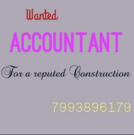 We are looking for Accountant