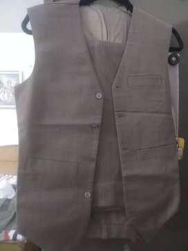 Three piece wollen suit