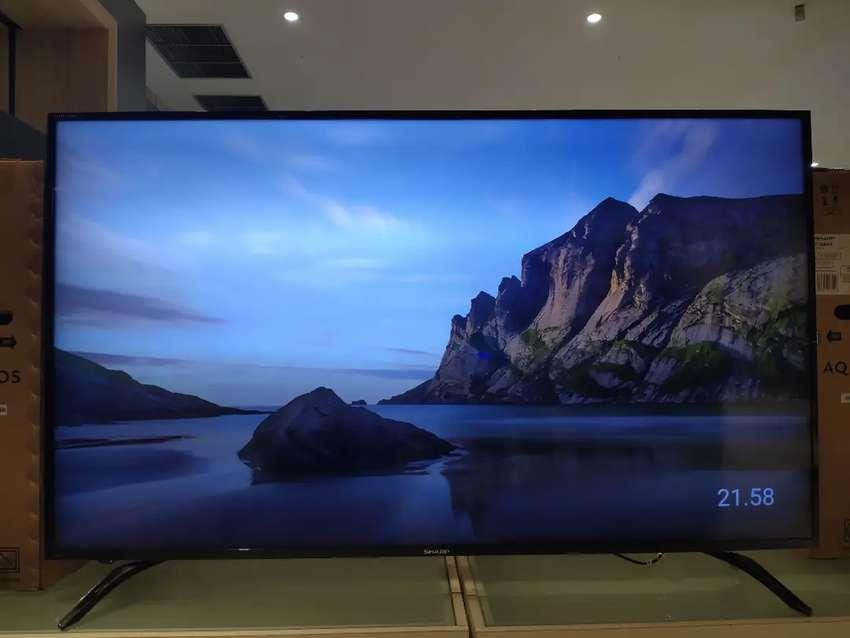 "SHARP ANDROID TV SMART 4K 60"""