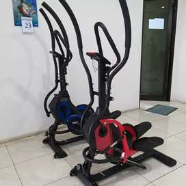Sepeda Statis Standing Eliptical Crosstrainer Fitur Lengkap Bisa COD
