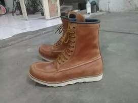 sepatu kulit sepatu redwing 8 inc