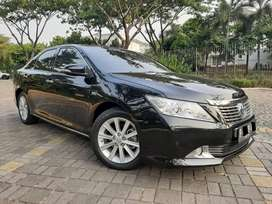 Termurah Se-OLX Cash 215jt New Camry 2.5 V AT 2012 Hitam #DOMINO AUTO