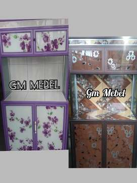 GM MEBEL. Lemari Dapur/Sayur/Piring di Pekanbaru
