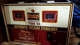 Automatic voltage staplisar3 Rely Havy duty in put 120 v out put 220 v