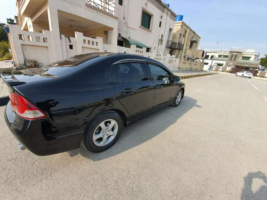 Genuine Honda Civic Orieal Reborn with Golden number 0