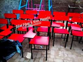 Kids furniture fiber chairs and tables