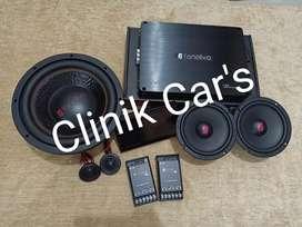 Soundsystem mobil full set by fonalivo lengkap dengan Headunit ^_^