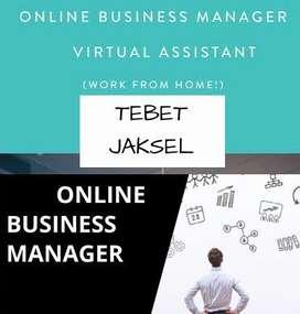 DICARI ONLINE BUSINESS MANAGER AREA TEBET JAKSEL