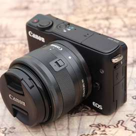 Canon M10 kit 15-45mm IS STM Hitam kode 1205A19