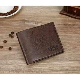 Dompet pria short wallet lipat pendek