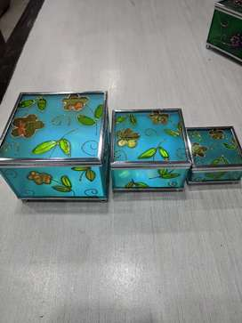Jewelry Box 3 Pieces (Sea Green)