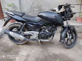 Bajaj Pulsar 180 with new rear tyre ,first owner